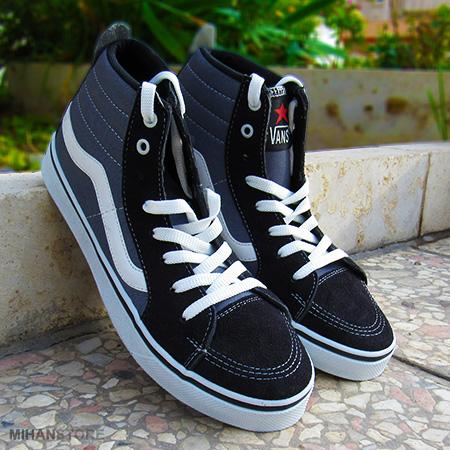 خرید کفش ساقدار دخترانه Vans طرح OldSkool