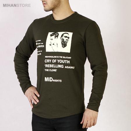 خرید تی شرت آستین بلند طرح Clone