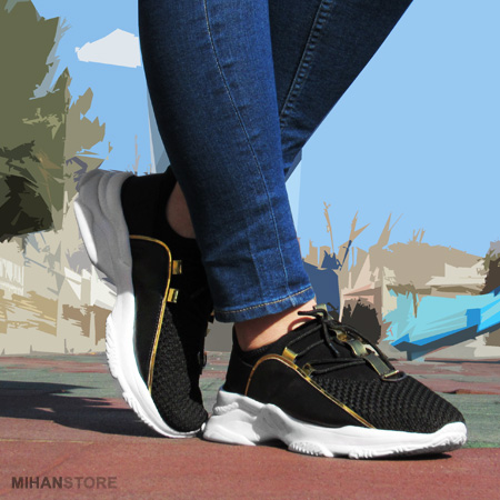 خرید کفش دخترانه طرح Crash