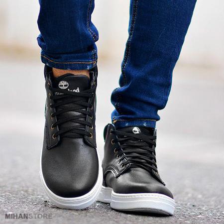 خرید کفش مردانه ساقدار Timberland طرح Baskets