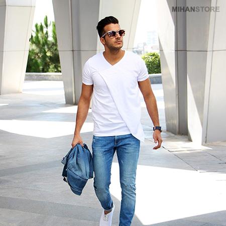 خرید تی شرت لانگ مردانه مدل Smith