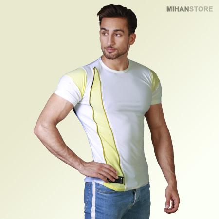 خرید تی شرت مردانه طرح Zip